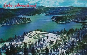 California Lake Arrowhead In San Bernardino Mountains Showning Santa Anita Ho...