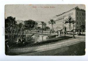 138605 France NICE Garden Jardin Public Vintage PC