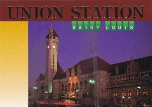 Union Railroad Station St Louis Missouri
