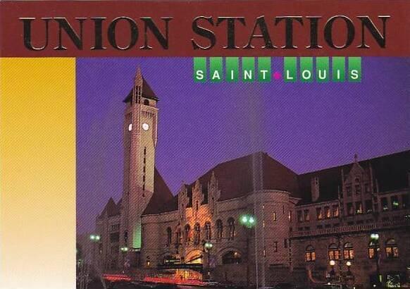 Union Railroad Station St Louis Missouri