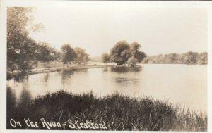 RP: STRATFORD , Ontario , Canada , 1930s-40s ; On The Avon