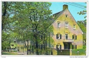 Sister's House , Moravian Settlement, Bethlehem, Pennsylvania, 40-60s