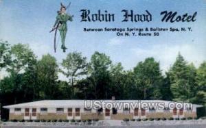 Robin Hood Motel Ballston Spa NY Unused