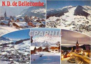 Modern Postcard Notre Dame de Bellecombe (Savoie) alt 1134m