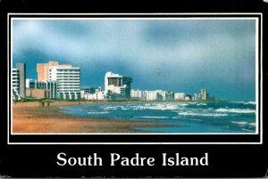 Texas South Padre Island Beach View