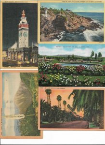 USA - California Ohio And More  Postcard Lot of 11 01.05