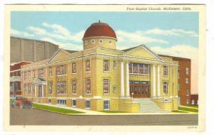 First Baptist Church, McAlester, Oklahoma, 1930-1940s