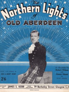 Northern Lights Of Old Aberdeen Jimmy Shand Scottish Sheet Music