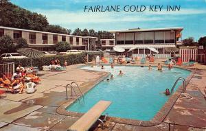 USA Michigan Ave. Dearborn Fairlane Gold Key Inn, swimming pool