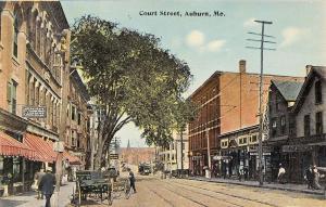 Auburn ME Mercier Tailor & Dry Cleaning~Kodaks~Bathing Suits New Elm House c1910