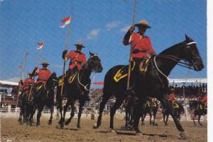 R.C.M.P. Musical Ride, Calgary Exhibition and Stampede,  Calgary,  Alberta,  ...