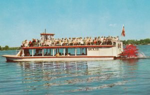 LAKE WEBSTER , Indiana , 1950-60s Excursion Boat DIXIE