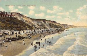 Boscombe Sands and East Cliff Promenade Beach 1914
