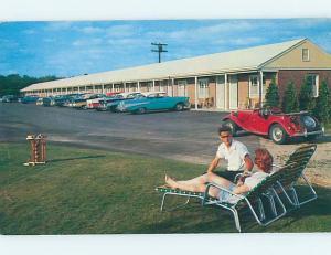 Unused Pre-1980 MOTEL SCENE Rhode Island RI hk0115
