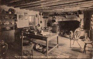 New York Bronx Van Cortland Museum Kitchen