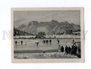 166976 VII Olympic speedskaters CIGARETTE card