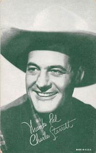 Charles Starrett Western Actor Mutoscope Unused