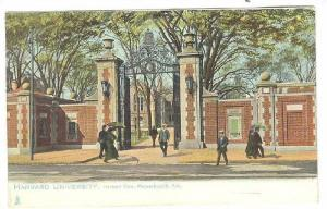 TUCK 1059, Harvard Gate, Massachusetts Avenue, HARVARD UNIVERSITY, Massachuse...