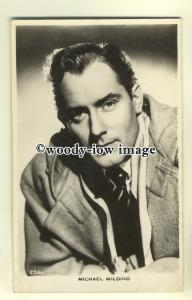 b2615 - Film Actor - Michael Wilding - postcard