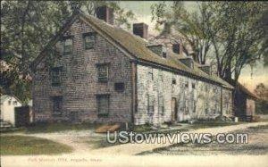 Fort Western 1754 in Augusta, Maine