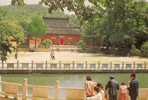 China Qixia Temple Promenade Postcard