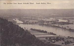 The Ox-Bow From Mount Holyoke Hotel, South Hadley, Massachusetts, PU-1933