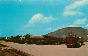 Steamtown USA Bellows Falls Vermont VT Postcard British Repton No 926 Bullard 2