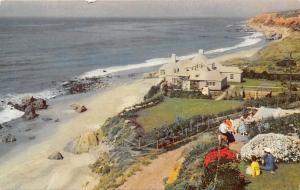 California, Malibu Encinal, midway between Santa Monica 1962