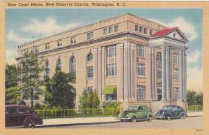 New Court House, New Hanover County, Wilmington, North Carolina, 1930-1940s