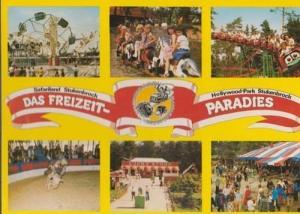 Stuckenbrock Fair German Hollywood Theme Park Postcard