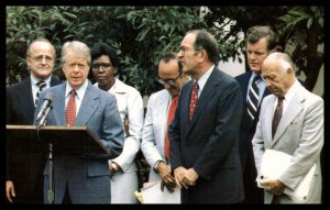 President Carter Reports to the Press Reviiew of Antitrust Laws