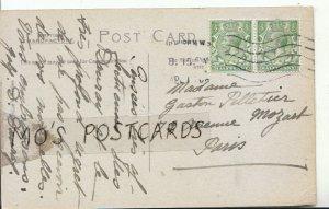Genealogy Postcard - Gaston Pelletier - 72 Avenue Mozart - Paris - Ref 9393A