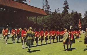 VANCOUVER, British Columbia, Canada, 1950-1960's; Caledonian Games, Inspectio...