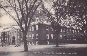 Minnesota St Paul Kirk Hall Macalester College Artvue