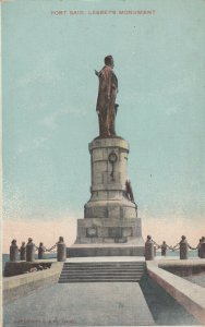 EGYPT , 00-10s ; Port Said , Lesseps Monument