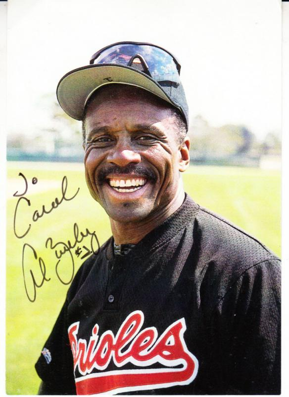 Al Bumbry - Baltimore Orioles Signature on Photo