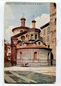 3103125 ITALY MILANO Esterno della Chiesa di S. SATIRO Vintage
