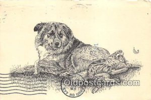 Booster Vaccinations, Loyal Oak Animal Clinic Norton, Ohio, USA Postcard Post...