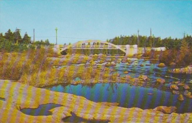 Canada Bridge Of Manuels In Conception Bay Peninsula Newfounfland