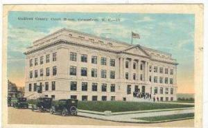 Guilford County Court House, Greensboro, North Carolina, PU-1923