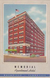 Memorial Apartment Hotel , NASHVILLE , Tennessee , 30-40s