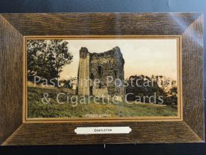 Old PC - CASTLETON, Peveral Castle (framed)