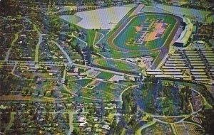 Aerial View Of World Famous Santa Anita Race Track Santa Anita California