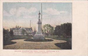 New York Middletown Soldiers Monument And Thrall Hospitl