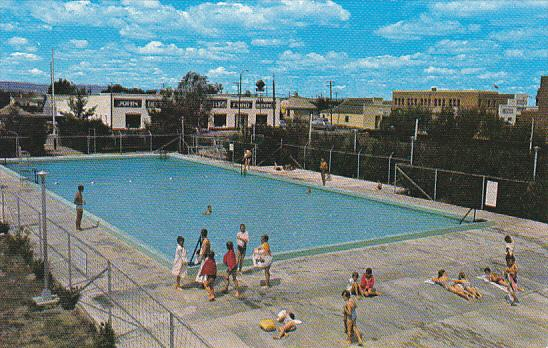 Canada Municipal Swimming Pool Fort MacLeod Alberta