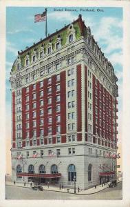 Exterior, Hotel Benson, Portland,Oregon,00-10s