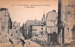 La Grande Guerre, Bombardement de Verdun France Unused