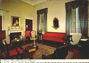 Arlington House The Custis Lee Mansion Family Parlor PC504
