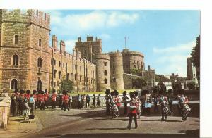 Postal 030926 : Band of the Grenadier Guards Castle Hill Windsor