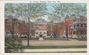 GREEN BAY, Wisconsin, PU-1927; St. Vincent Hospital